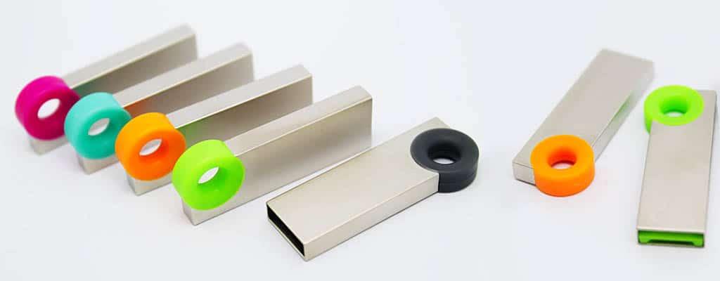 clé usb métal personnalisée