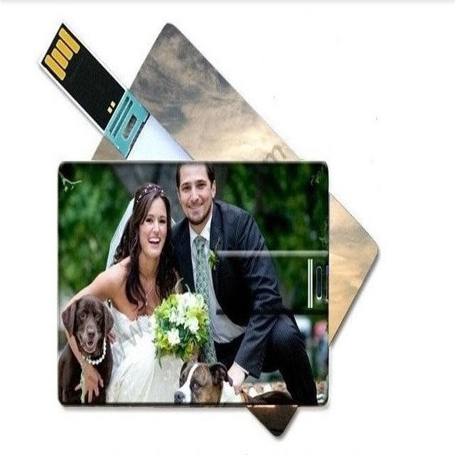 carte de visite USB mariage