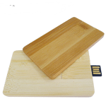 Wooden usb card