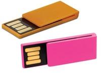 Mini clip USB logo