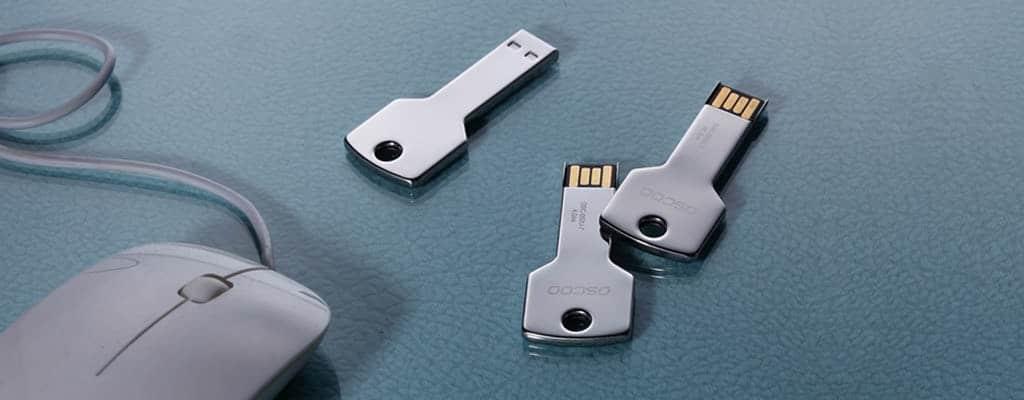 Clé USB forme originale