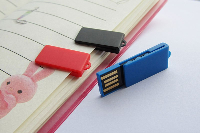 Custom USB key mini clip