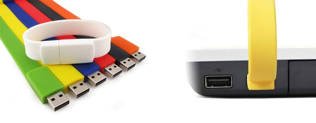 Custom USB wristband
