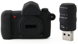Clé USB publicitaire camera