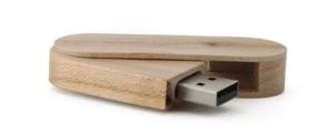 USB Twister en bois