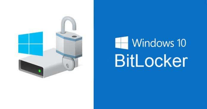 Windows 10 bitlocker
