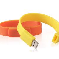 Bracelet usb avec logo