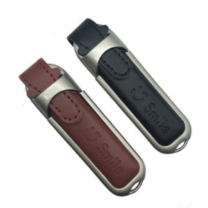 leather usb embossage