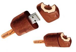Clé USB glace