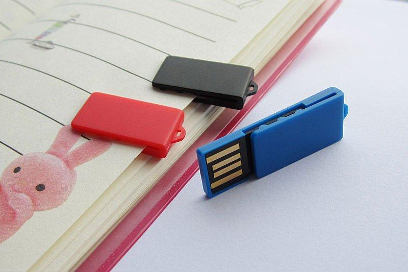 Clés USB mini clip pas chères made-to-usb