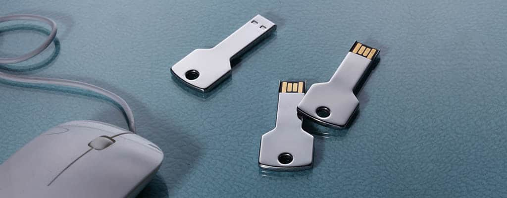 Custom USB metal key shape