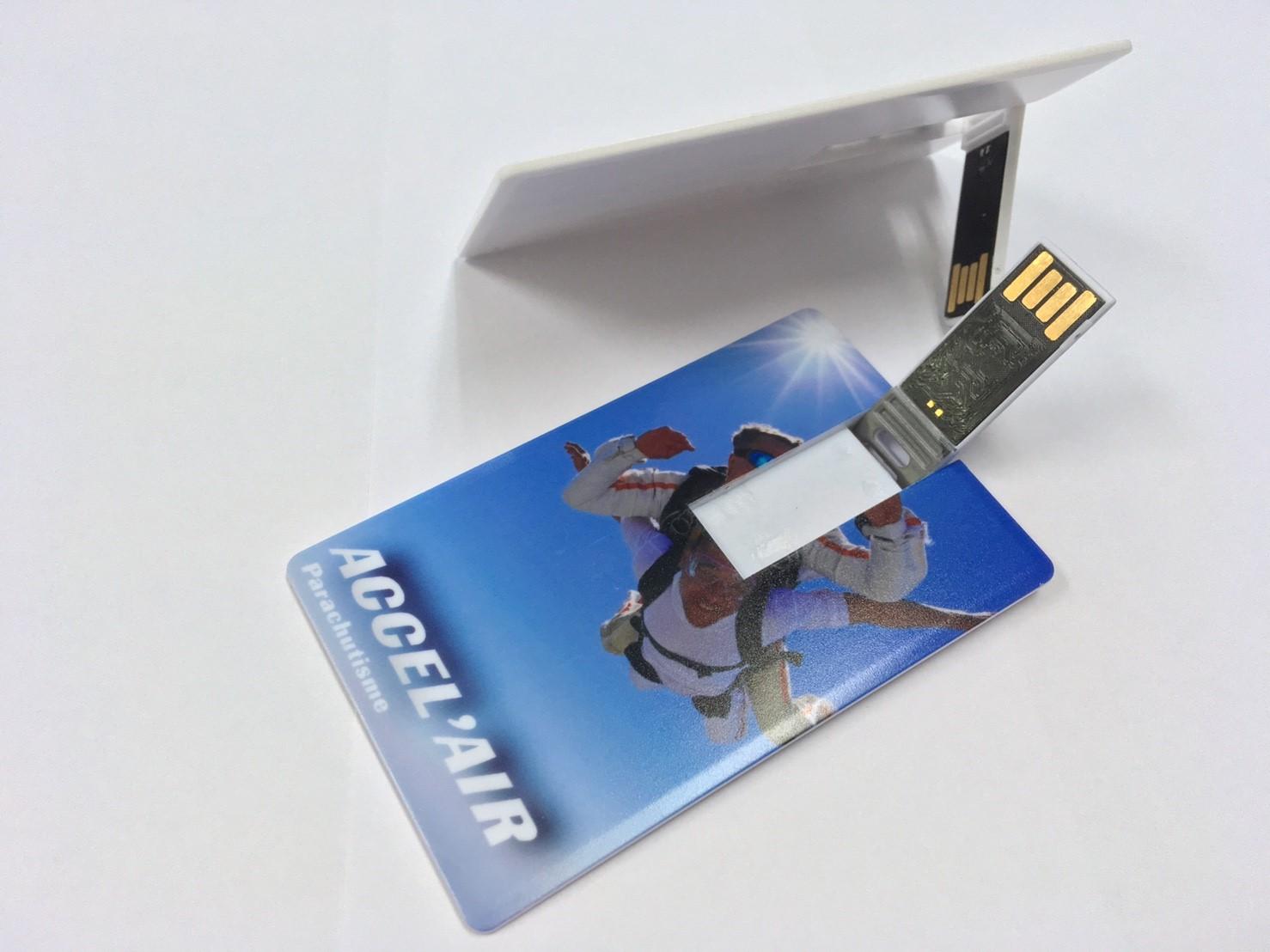 Carte de visite USB parachutisme