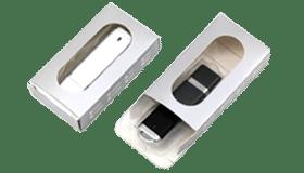 Petite boite en carton avec fenêtre