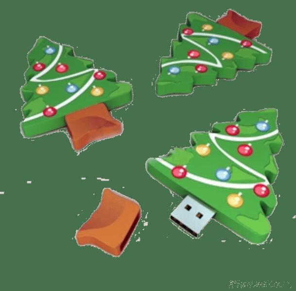 Clé USB arbre de Noël Made to USB