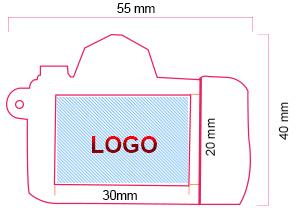 Printing area USB020