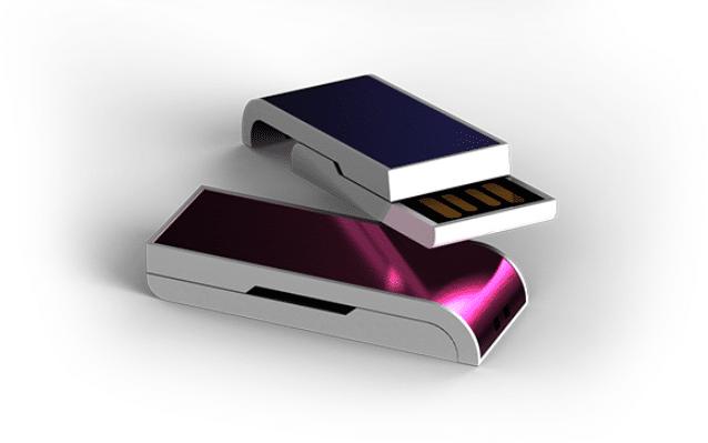 Clé USB Coulissante CL002