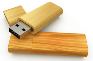 Clé USB publicitaire en bois Made to USB