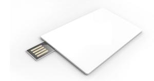 USB002 Flasdrive credit card