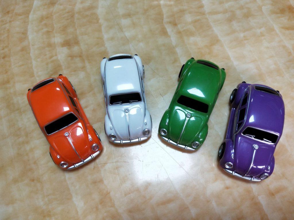 Clé USB voiture couleur