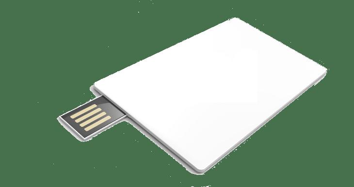 USB002 Carte de crédit USB