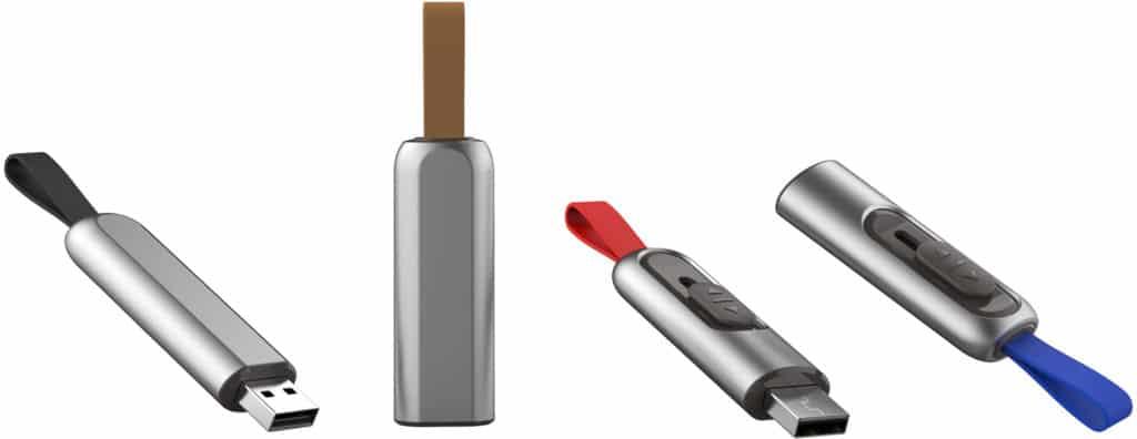 Clés USB publicitaires USB Push
